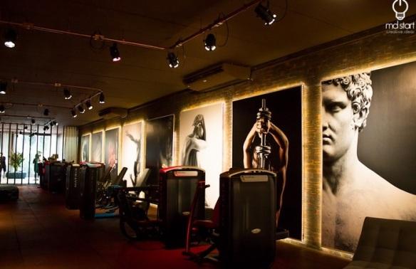 Sala de musculação (foto: Debora Carvalho)
